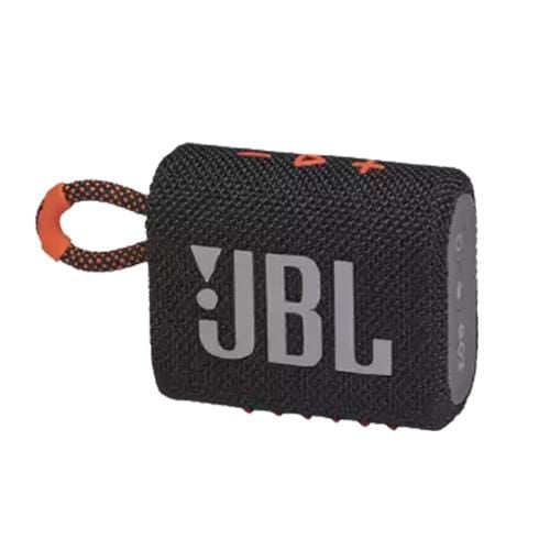 JBL Compact Speaker Black/Orange JBL Go 3 Portable Bluetooth Speaker
