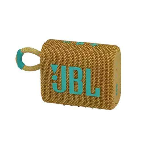 JBL Compact Speaker Yellow JBL Go 3 Portable Bluetooth Speaker