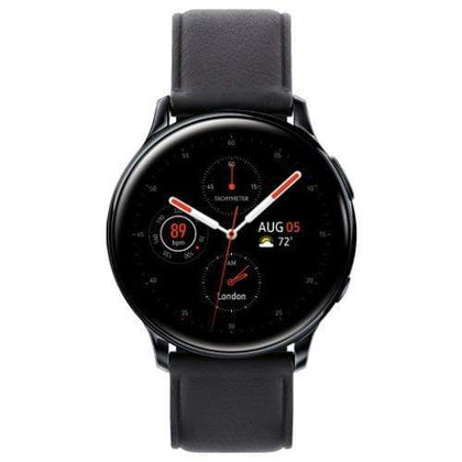 Samsung Smart Watch Black Samsung Galaxy Watch Active 2 (R820 44mm Stainless Steel Case)