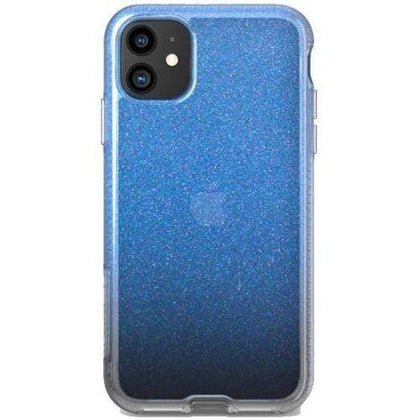 Tech 21 Original Accessories Blue Tech 21 Pure Shimmer Case for iPhone 11 (Australian Stock)