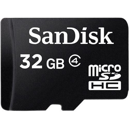 Memory Cards - SanDisk MicroSD Class 4 32GB