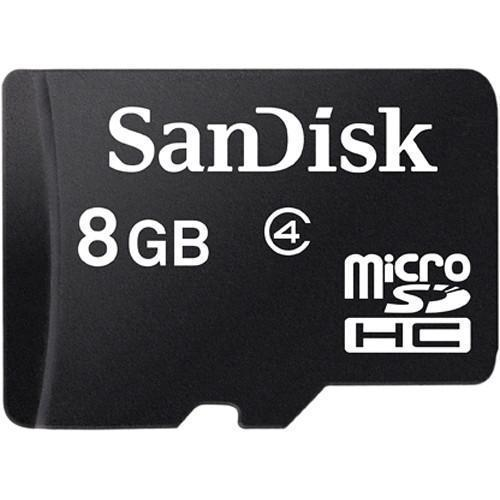 Memory Cards - SanDisk MicroSD Class 4 8GB