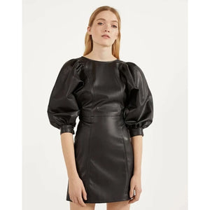 A Variety Of Style To Wear Leather Dresses