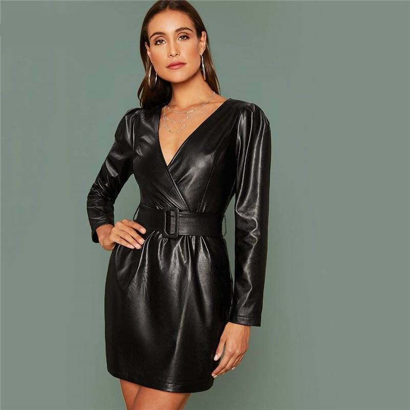 Reasons to Pick a Black Leather Dress