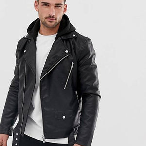 Robust And Fiery Motorbike Leather Jacket
