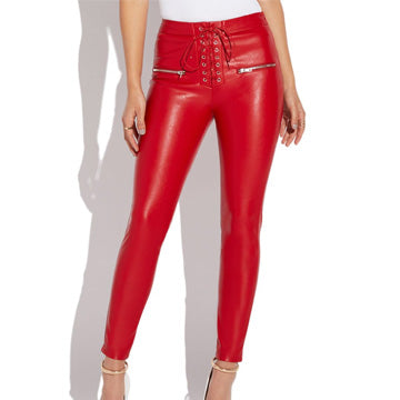 Red Leather Pants: Revolutionizing Future Fads