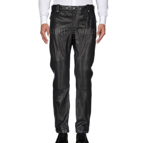 Classical Style Men Leather Pant