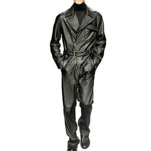 Style Leather Jumpsuit Online For Men -  HOTLEATHERWORLD