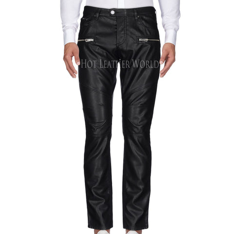 Five Pocket Pant For Men -  HOTLEATHERWORLD