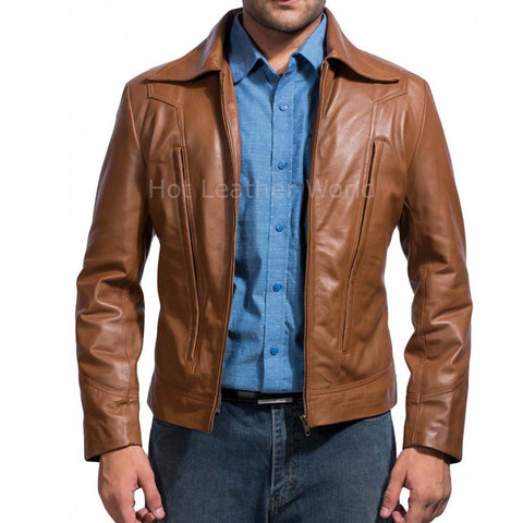 Movie X-Men Days of Future past Wolverine Replica Leather Jacket