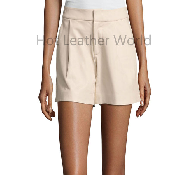 Leather Shorts For Women