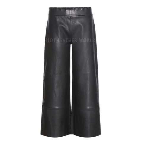 Classic Style Leather Pants