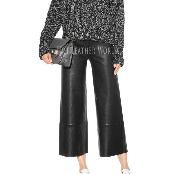 Classic Style Leather Pants -  HOTLEATHERWORLD