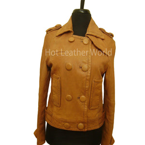 Republic Distressed Leather Jacket -  HOTLEATHERWORLD