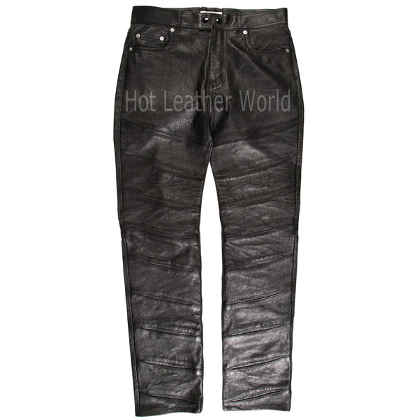 Stylish Men Leather Pants -  HOTLEATHERWORLD