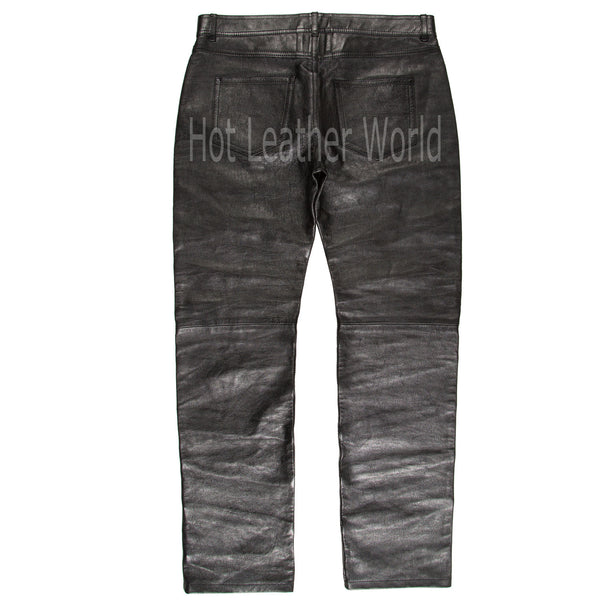 Stylish Men Leather Pants