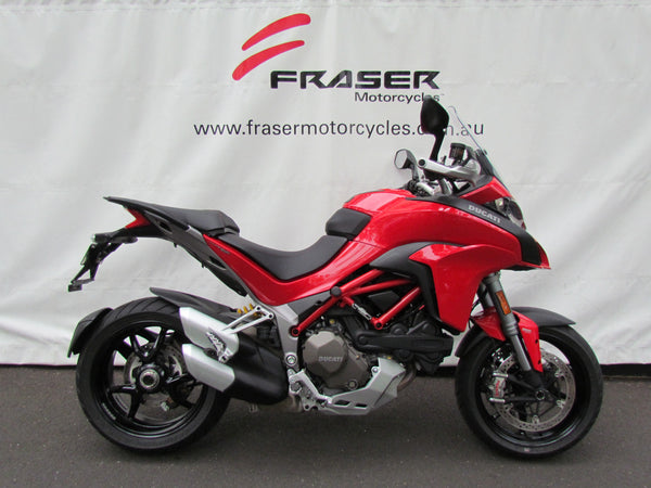 Multistrada 1200S Red 2016