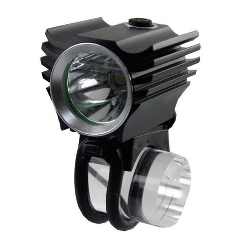 Double-Function Rechargeable Cree Led Bike Front Light