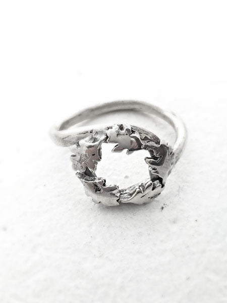 Maple Wreath Ring