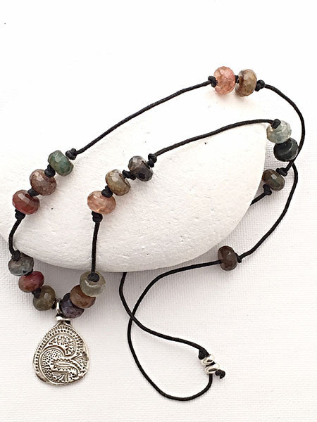 Exotic Agate Necklace