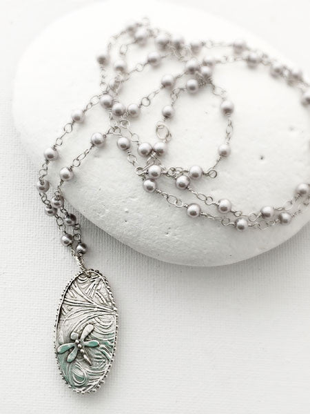 Dragonfly Serenade Necklace