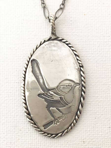 Fairy Wren Necklace