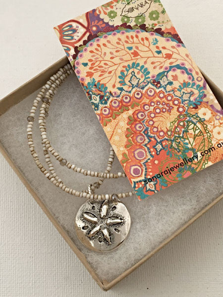 Sand Dollar Dreams Necklace