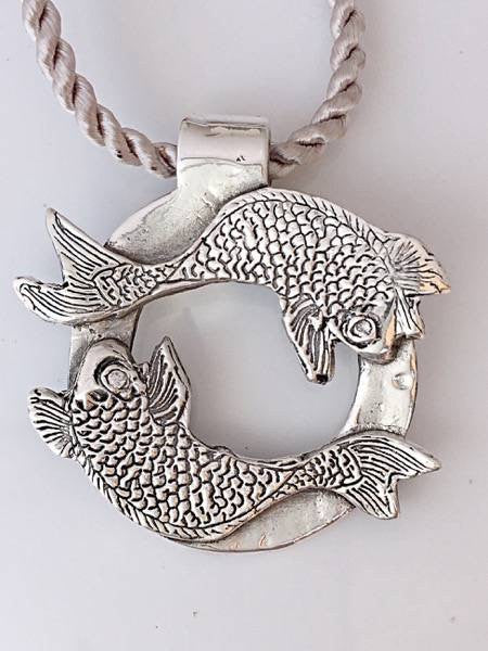 Koi Reflection Necklace