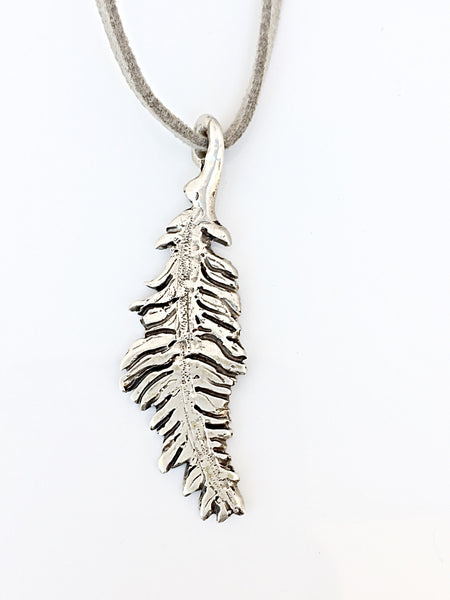 Spirit Feather Necklace