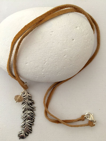 Dancing Feather Necklace