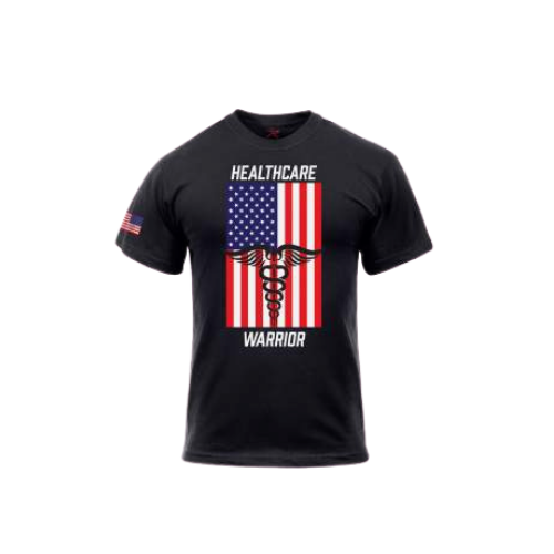 Rothco Healthcare Warrior US Flag T-Shirt