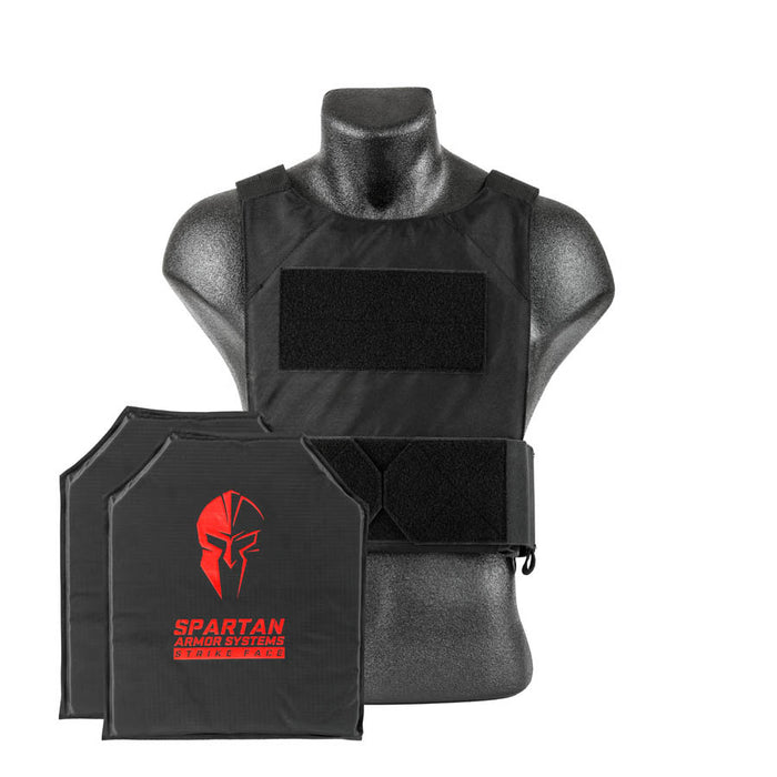 Spartan Armor Systems IIIA Soft Body Armor with DL Concealment Plate Carrier