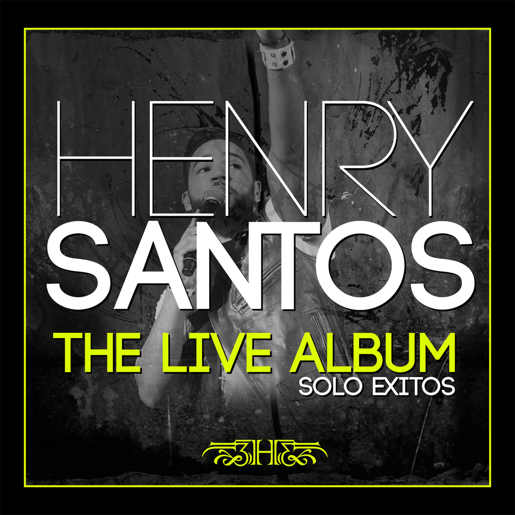 Henry Santos The Live Album, Sólo Éxitos (Limited Edition)