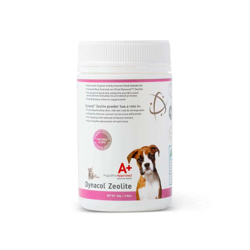 Augustine Approved Dynacol™ Zeolite for Dogs and Cats - Shop Vanillapup Online Pet Shop