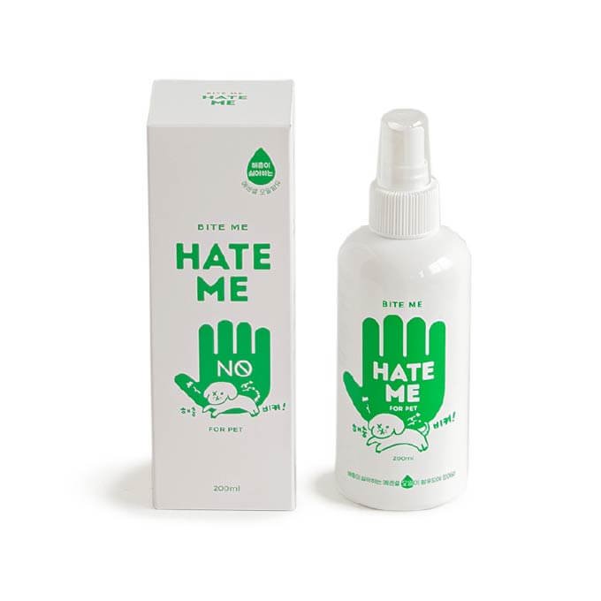 Bite Me Hate Me Insect Repellent Spray (200ml) - Bite Me, Dogs, Flea&Tick, New, Starter Pack - Vanillapup - Online Pet Shop