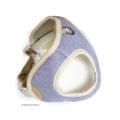 Bite Me Soft Step-In Dog Harness (Purple) - Vanillapup Online Pet Store