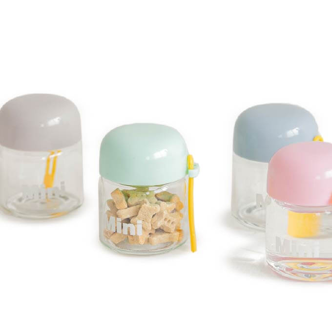 Bite Me Mini Treat Jars | 150ml - Vanillapup Online Pet Shop