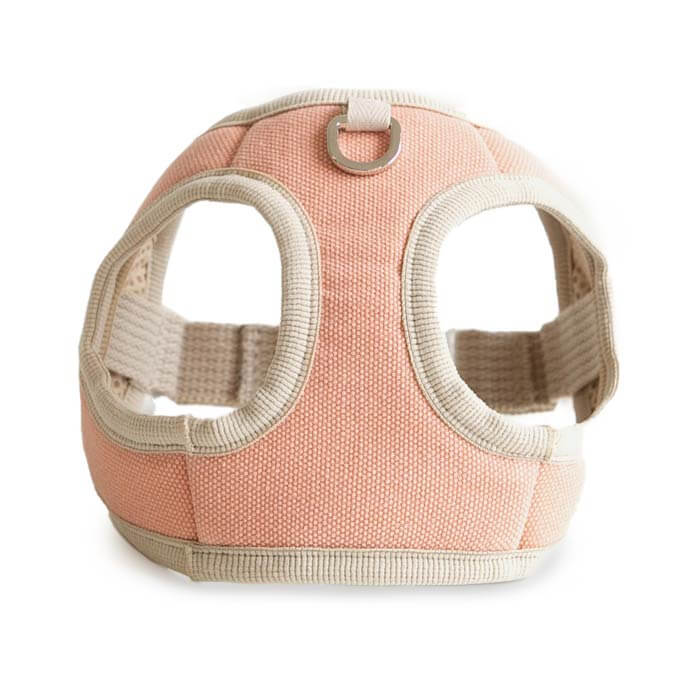 Bite Me Soft Step-In Dog Harness (Coral) - Vanillapup Online Pet Store