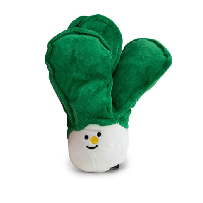 Bite Me Chinese Cabbage Plush Toy - Bite Me, Dogs, Latte, Toys - Vanillapup - Online Pet Shop