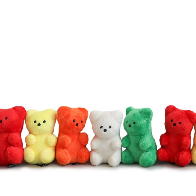 Bite Me Gummy Bear Plush Toy - Bite Me, Dogs, New, Toys - Shop Vanillapup - Online Pet Shop