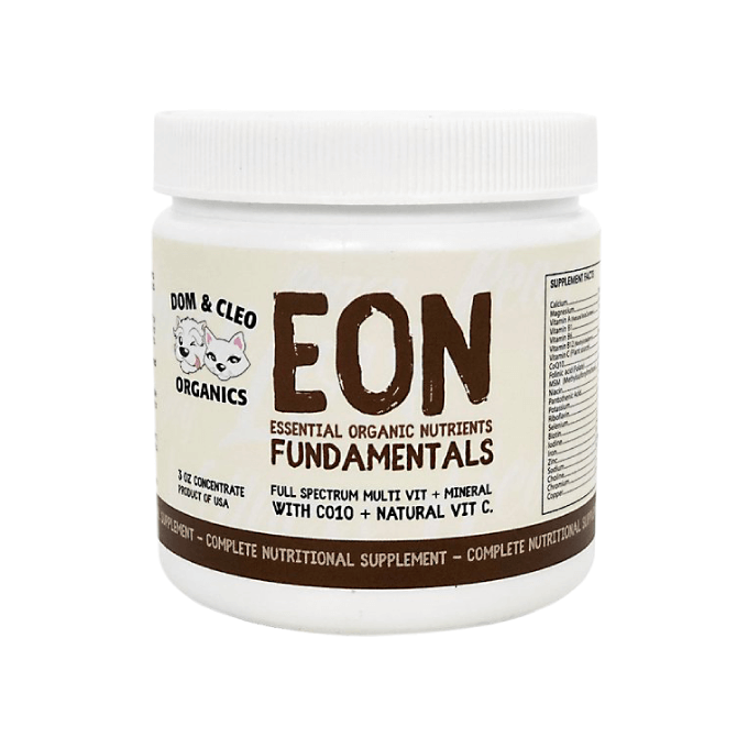 Dom & Cleo Organics EON Fundamentals Supplement - Cats, Dogs, Dom & Cleo Organics, Puppy, Supplements - Shop Vanillapup - Online Pet Shop
