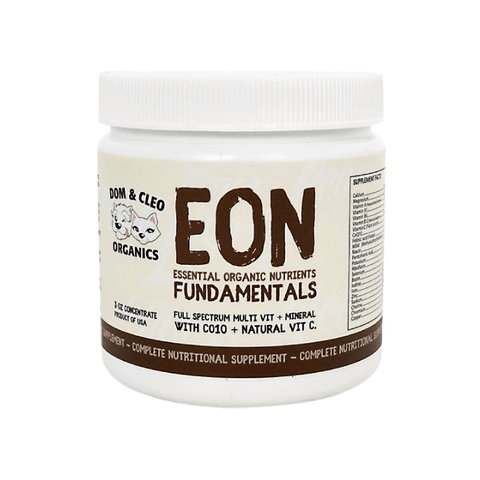 Dom & Cleo Organics EON Fundamentals Supplement - Cats, Dogs, Dom & Cleo Organics, Puppy, Supplements - Shop Vanillapup