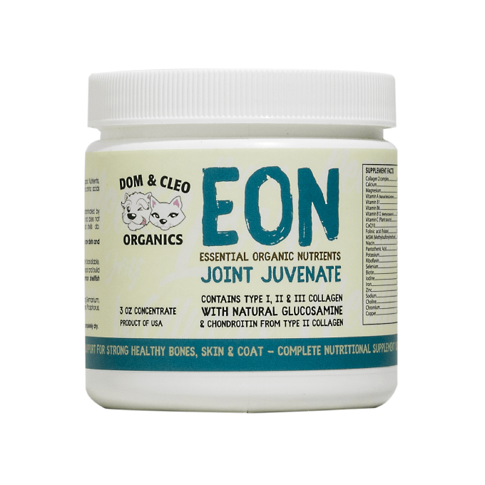 Dom & Cleo Organics EON Joint Juvenate Supplement - Cats, Dogs, Dom & Cleo Organics, Health, Joint, Supplements - Vanillapup - Online Pet Shop