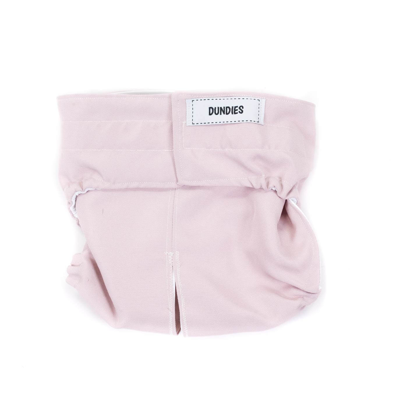 Dundies Dusty Pink All In One Nappy - Vanillapup Online Pet Store