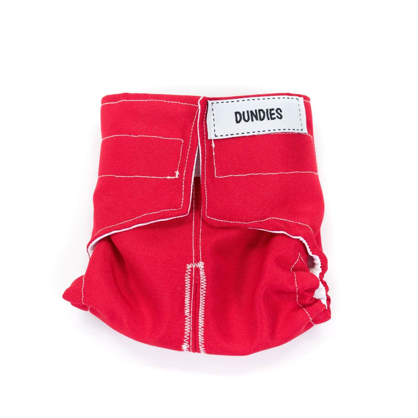 Dundies Red All In One Nappy