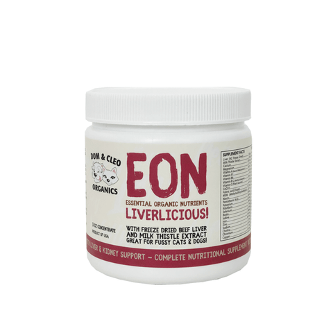 Dom & Cleo Organics EON Liverlicious Supplement - Cats, Dogs, Dom & Cleo Organics, Supplements - Shop Vanillapup