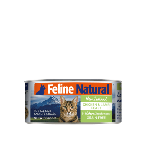Feline Natural Chicken and Lamb Canned Cat Food 85g