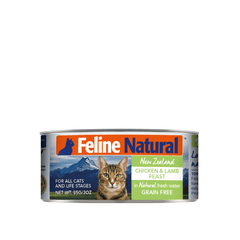 Feline Natural Chicken and Lamb Canned Cat Food - Cats, Feline Natural, Food - Shop Vanillapup - Online Pet Shop
