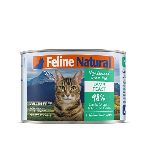 Feline Natural Lamb Feast Canned Cat Food - Cats, Feline Natural, Food - Shop Vanillapup - Online Pet Shop