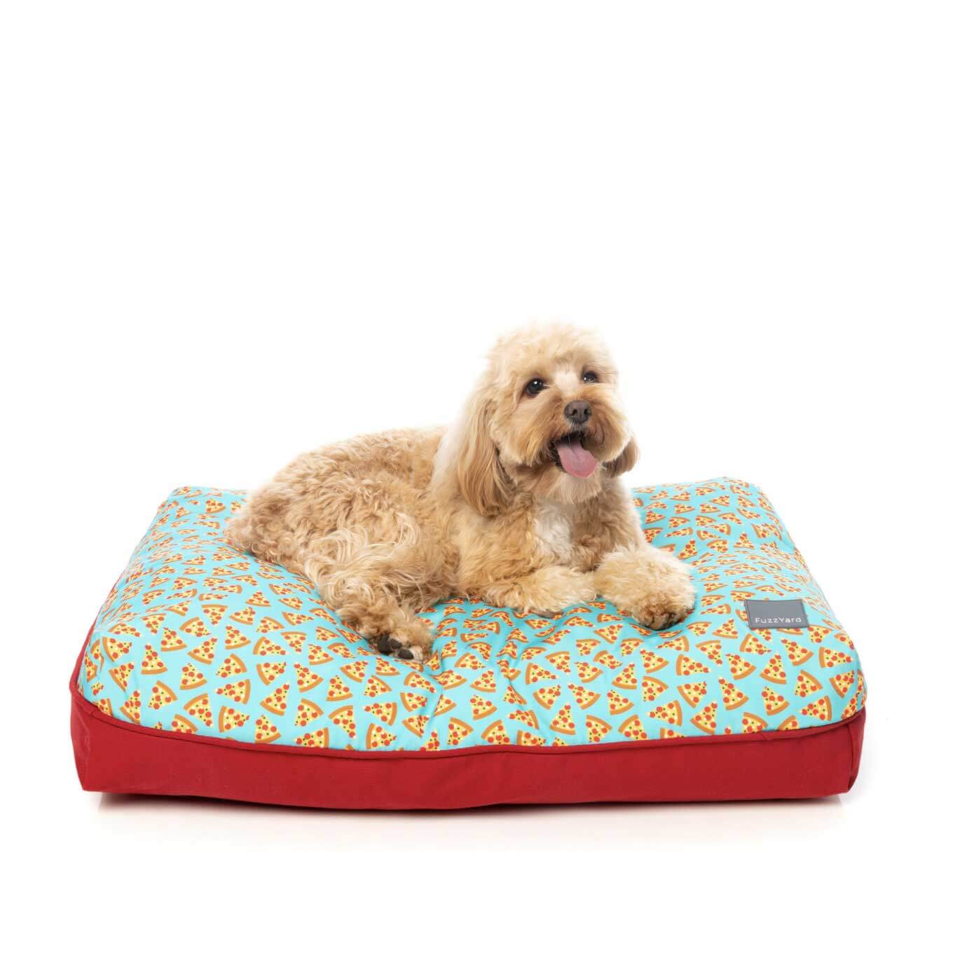 FuzzYard Pizza Lyf Big Dreamer Pillow Bed - Beds, Cats, Dogs, FuzzYard - Vanillapup - Online Pet Shop